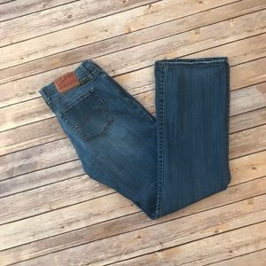 Lucky Brand Midrise Flare Jean Size 8